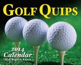 2014 Golf Quips 2014 Mini Day-to-Day Calendar