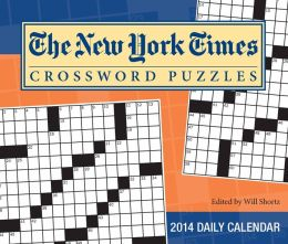 2014 New York Times Crossword Puzzles Day-to-Day Calendar, The