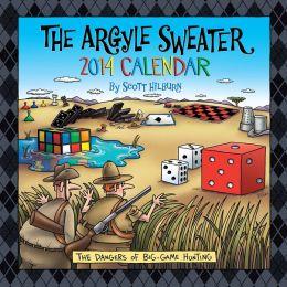 2014 Argyle Sweater Wall Calendar, The