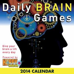 2014 Daily Brain Games Day-to-Day Calendar