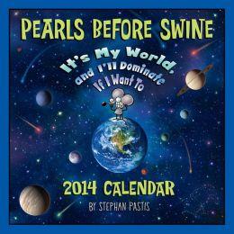2014 Pearls Before Swine Wall Calendar