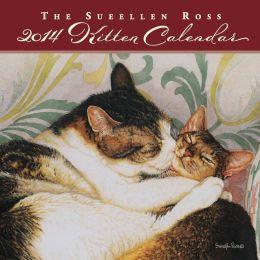 2014 Sueellen Ross Kitten Mini Wall Calendar