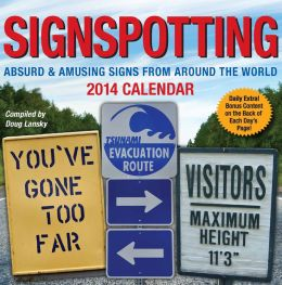 2014 Signspotting Day-to-Day Calendar