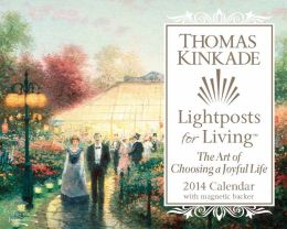 2014 Thomas Kinkade Lightposts for Living Mini Day-to-Day Calendar