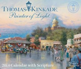 2014 Thomas Kinkade Painter of Light with Scripture Day-to-Day Calendar