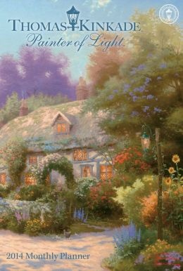 2014 Thomas Kinkade Painter of Light Large Monthly Planner Calendar