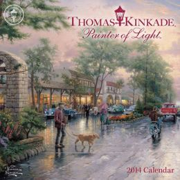 2014 Thomas Kinkade Painter of Light Mini Wall Calendar