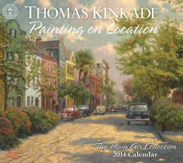 2014 Thomas Kinkade Painting on Location Deluxe Wall Calendar