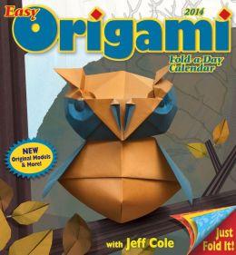2014 Easy Origami Fold-a-Day Calendar