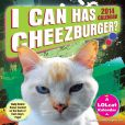 Book Cover Image. Title: 2014 I Can Has Cheezburger? Day-to-Day Calendar, Author: Cheezburger Inc.