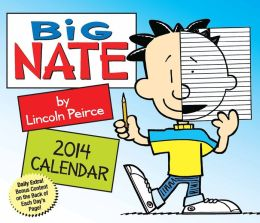 2014 Big Nate Day-to-Day Calendar