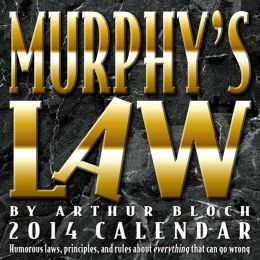 2014 Murphy's Law Day-to-Day Calendar