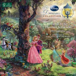 2014 Thomas Kinkade: The Disney Dreams Collection Wall Calendar