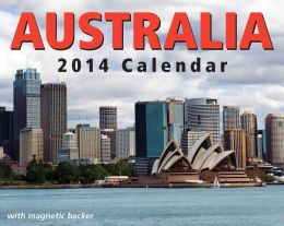 2014 Australia Mini Day-to-Day Calendar