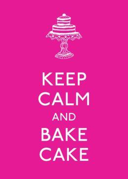 Keep Calm & Bake Cake Little Gift Book