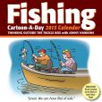 Book Cover Image. Title: 2015 Fishing Cartoon-a-Day Calendar, Author: Jonny Hawkins