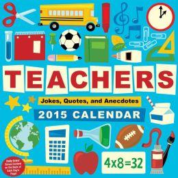 2015 Teachers Day-to-Day Calendar