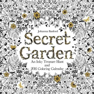 2016 The Secret Garden Wall Calendar