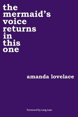 Book the mermaid's voice returns in this one