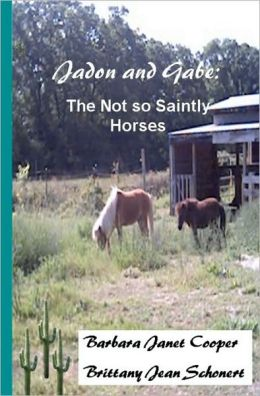 Jadon and Gabe: The Not so Saintly Horses