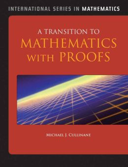 A Transition To Mathematics With Proofs
