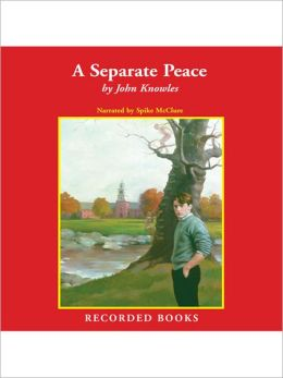 an analysis of the use of symbolism in john knowles a seperate peace Anlalyzing symbolism between the two rivers in a separate peace essaysthe novel a separate peace, by john knowles, was.