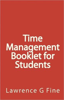 Time Management Booklet For Students