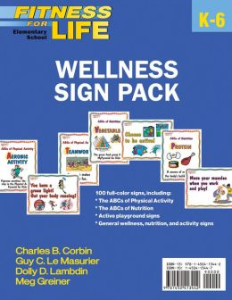 Fitness for Life: Elementary School Wellness Sign Pack