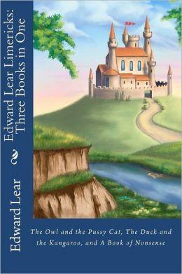 Edward Lear Limericks--Three Books In One