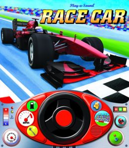 Race Car Steering Wheel Play A Sound