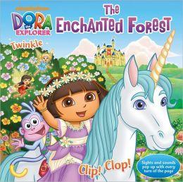 Dora the Explorer: The Enchanted Forest - Pop up Sound Book
