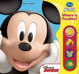 Mickey Mouse Clubhouse Where's the Toodles Tiny Lift & Listen