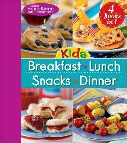 4 in 1 Kids Breakfast, Lunch, Snacks, Dinner