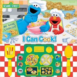 Sesame Street I Can Cook Cooktop Mini Delxue