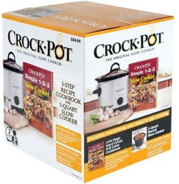 Rival Crockpot and Cookbook Set