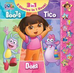 Boots Dora Tico 3 Books in 1