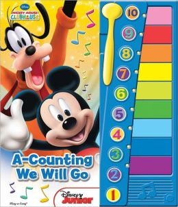 Mickey Mouse Clubhouse A Counting We Will Go Xylophone