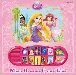 Disney Princess When Dream Come True Lenticular Soud