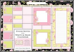 Wipe Off Memo Board Blister Flowers