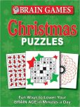 Book Cover Image. Title: Brain Games:  Christmas Puzzles, Author: Publications International Staff