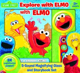 Sesame Street: Explore with Elmo: Magnifying Glass and Storybook Set