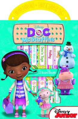 Disney Jr.: Doc McStuffins: 12 Board Book Block Set