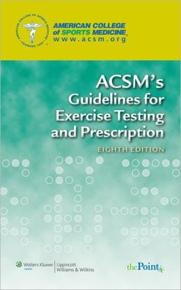 College of St. Benedict- ACSM's Resources for the Personal Trainer; ACSM's Health-Related Physical Fitness Assessment Manual & Guidelines for Exercise Testing and Prescription