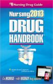 Book Cover Image. Title: Nursing2013 Drug Handbook, Author: Lippincott Williams & Wilkins