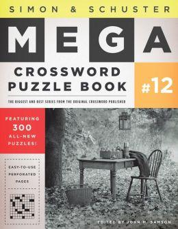 Simon & Schuster Mega Crossword Puzzle Book #12