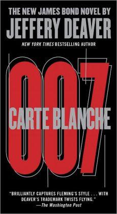 Carte Blanche: The New James Bond Novel