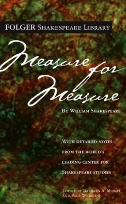 Measure for Measure (Folger Shakespeare Library Series) (PagePerfect NOOK Book)