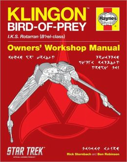 Star Trek: Klingon Bird-of-Prey Haynes Manual
