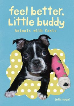 Feel Better Little Buddy: Animals with Casts
