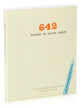 642 Things to Write Journal 9x7.75